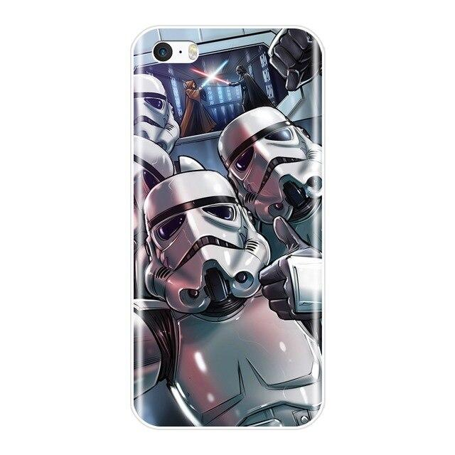 Coque Star Wars<br> Iphone Stormtrooper Selfie - Yoda Shop
