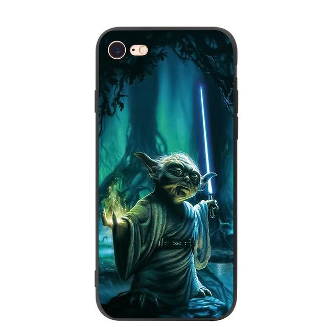 Coque Star Wars<br> Iphone Yoda Dagobah - Yoda Shop