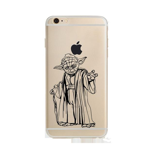 Coque Star Wars<br> Iphone Yoda Dessin - Yoda Shop