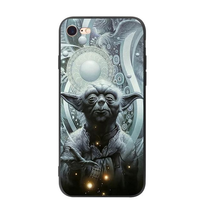Coque Star Wars<br> Iphone Yoda Meditation - Yoda Shop