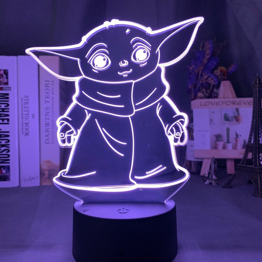 Lampe Star Wars<br> Baby Yoda - Yoda Shop