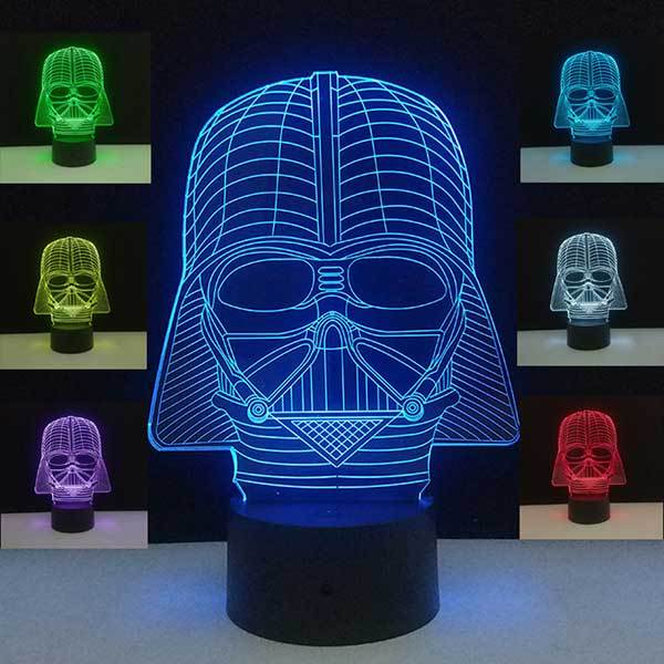 Lampe Star Wars<br>Dark Vador - Yoda Shop