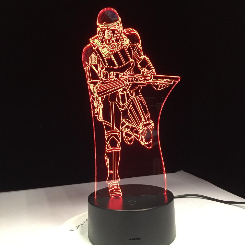 Lampe Star Wars<br> Death Trooper - Yoda Shop