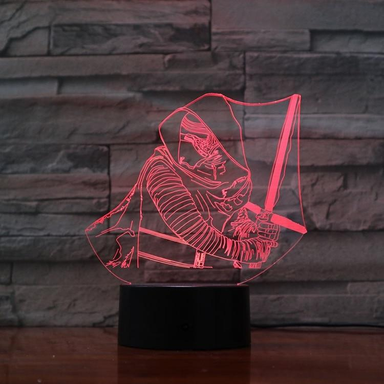 Lampe Star Wars<br> Kylo Ren - Yoda Shop