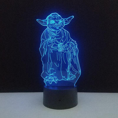 Lampe Star Wars<br>R2D2 - Yoda Shop