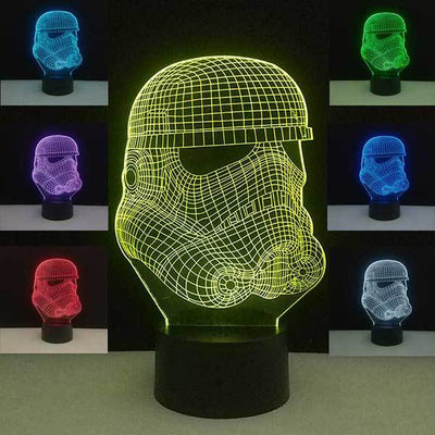 Lampe Star Wars<br>Stormtrooper - Yoda Shop