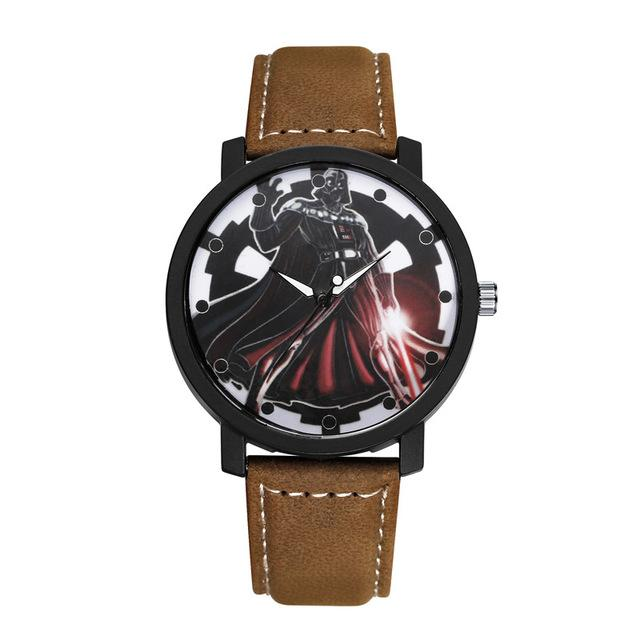 Montre Star Wars<br>Dark Vador Sith Brun - Yoda Shop
