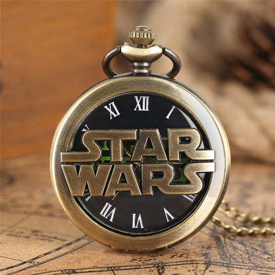 Montre Gousset Star Wars<br> - Yoda Shop