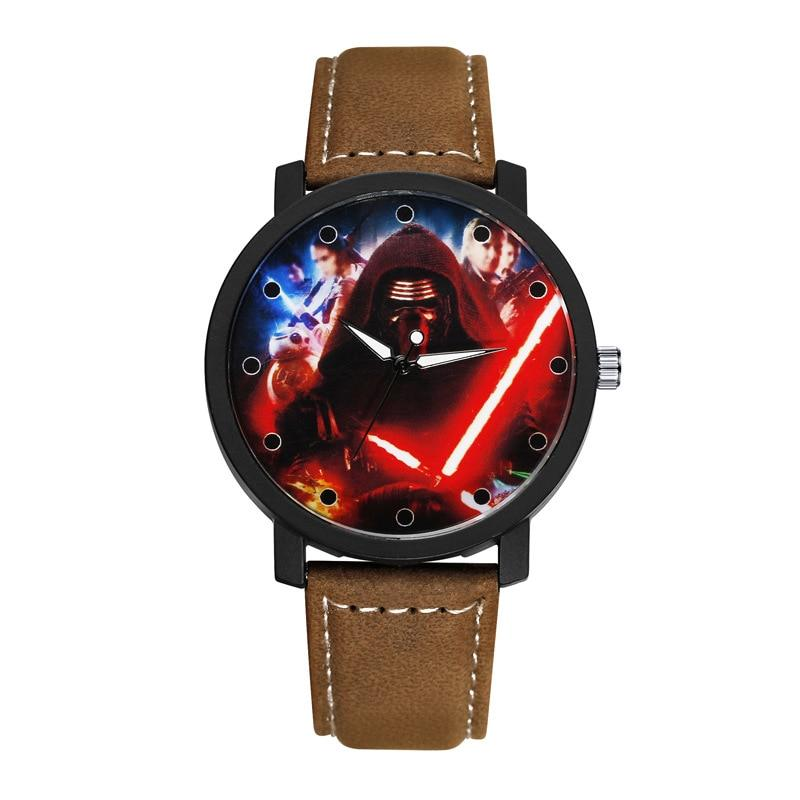 Montre Star Wars<br>Kylo Ren Lrdlf Brun - Yoda Shop