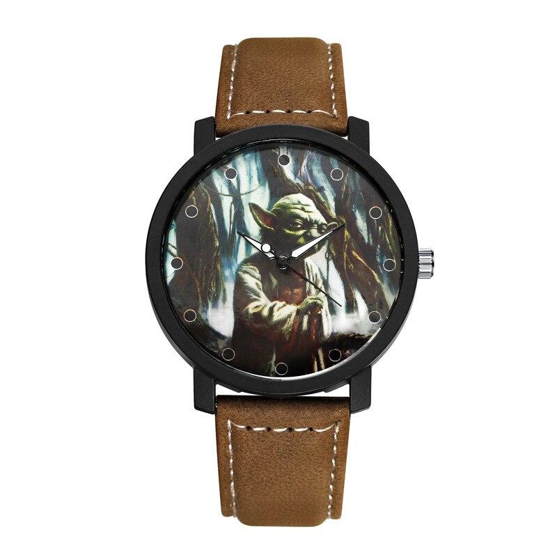 Montre Star Wars<br> Yoda Brun - Yoda Shop