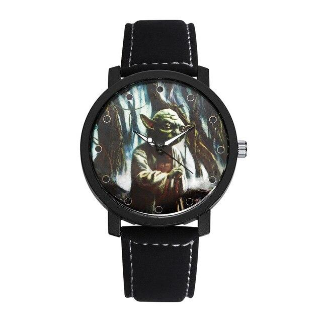 Montre Star Wars<br>Yoda Noir - Yoda Shop
