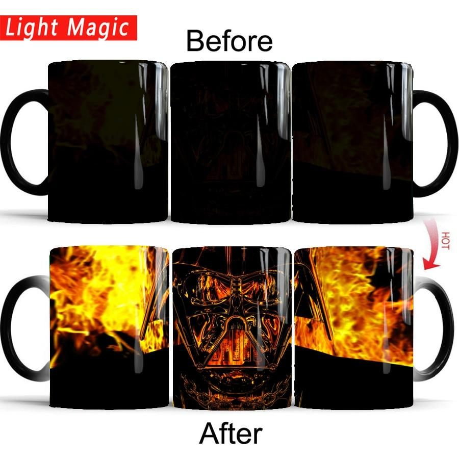 Mug Star Wars<br> Dark Vador Fire - Yoda Shop