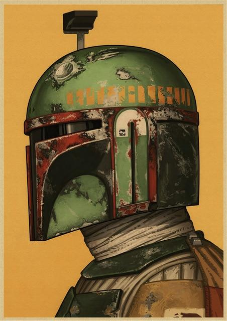 Poster Star Wars<br> Boba Fett - Yoda Shop
