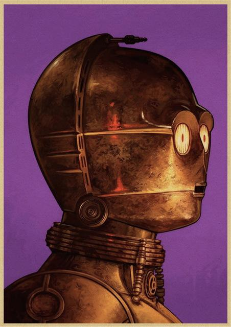 Poster Star Wars<br> C-3Po - Yoda Shop