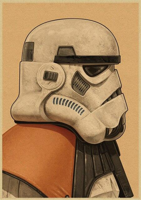 Poster Star Wars Commandant Stormtrooper - Yoda Shop