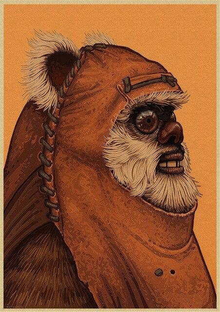 Poster Star Wars Ewok - Yoda Shop