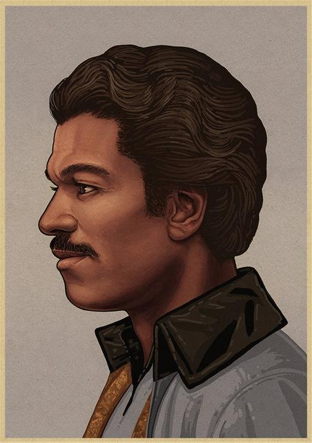 Poster Star Wars Lando Calrissian - Yoda Shop