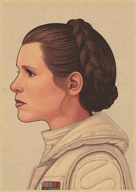 Poster Star Wars Leia Organa - Yoda Shop