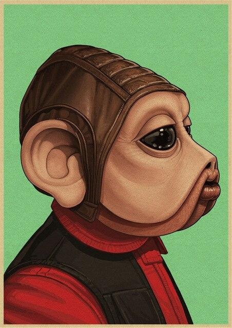 Poster Star Wars Nien Nunb - Yoda Shop