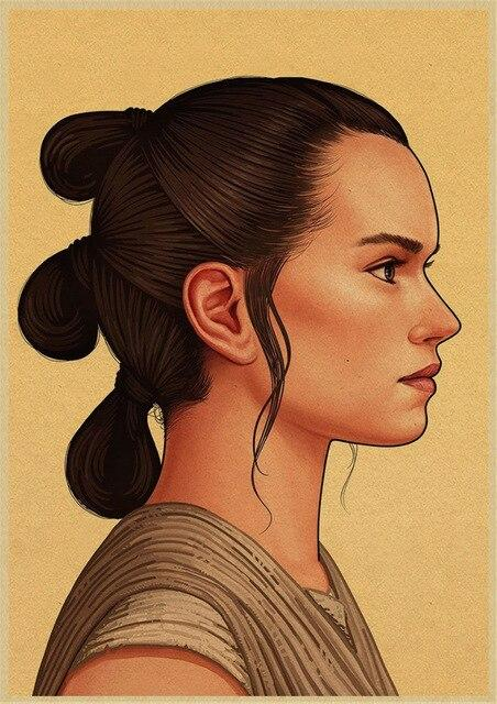 Poster Star Wars<br> Rey - Yoda Shop