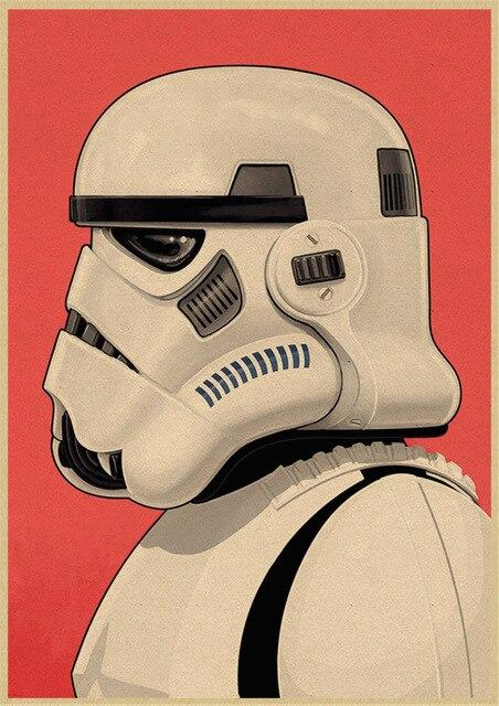 Poster Star Wars Stormtrooper - Yoda Shop