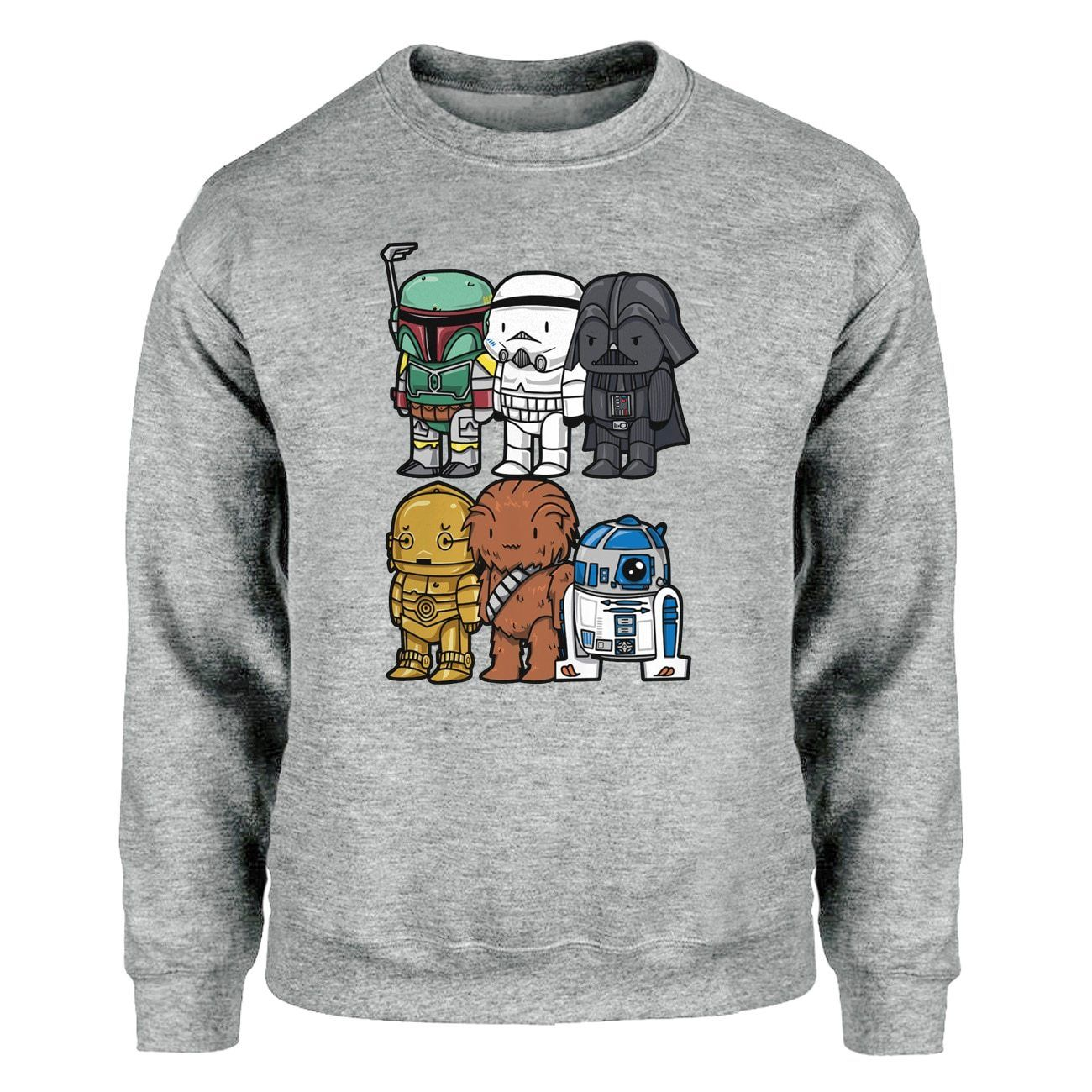 Pull Star Wars<br> Empire Et Rebelle - Yoda Shop