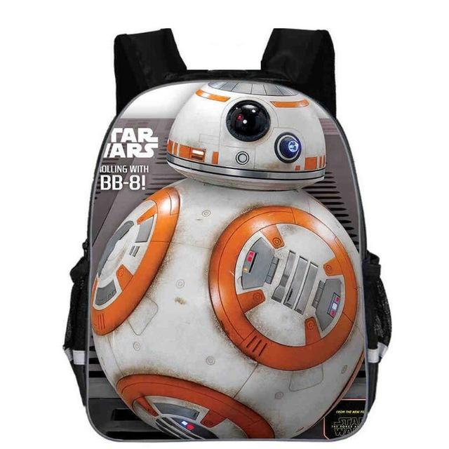 Sac À Dos Star Wars<br> Bb8 - Yoda Shop