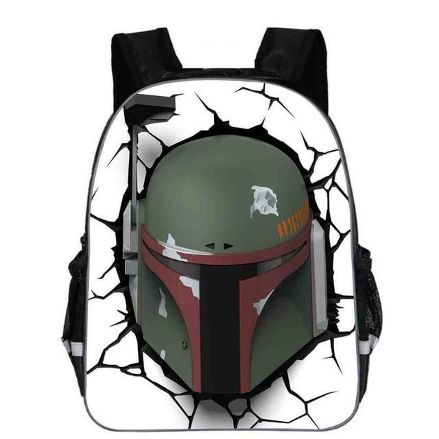 Sac À Dos Star Wars<br> Boba Fett - Yoda Shop