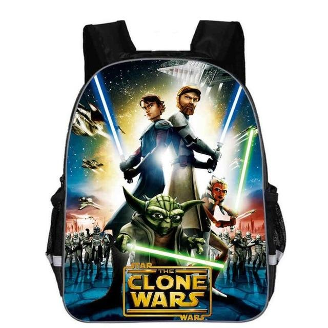 Sac À Dos Star Wars<br> Clone Wars - Yoda Shop