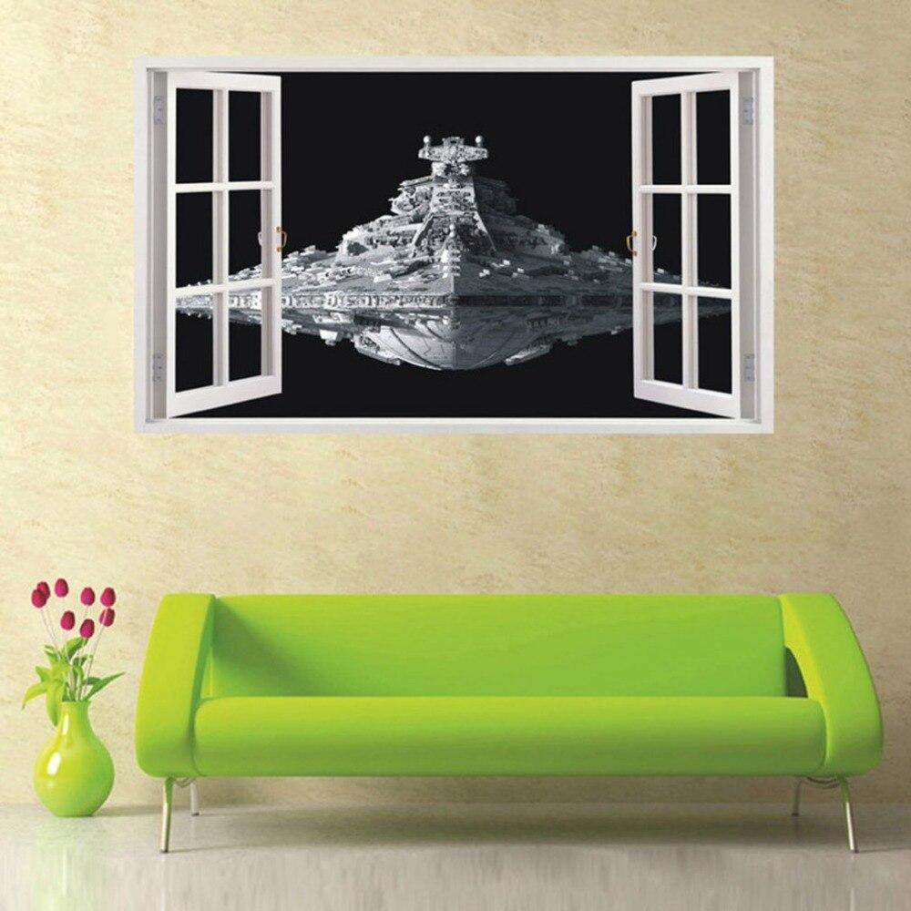 Sticker Star Wars<br> Star Destroyer - Yoda Shop