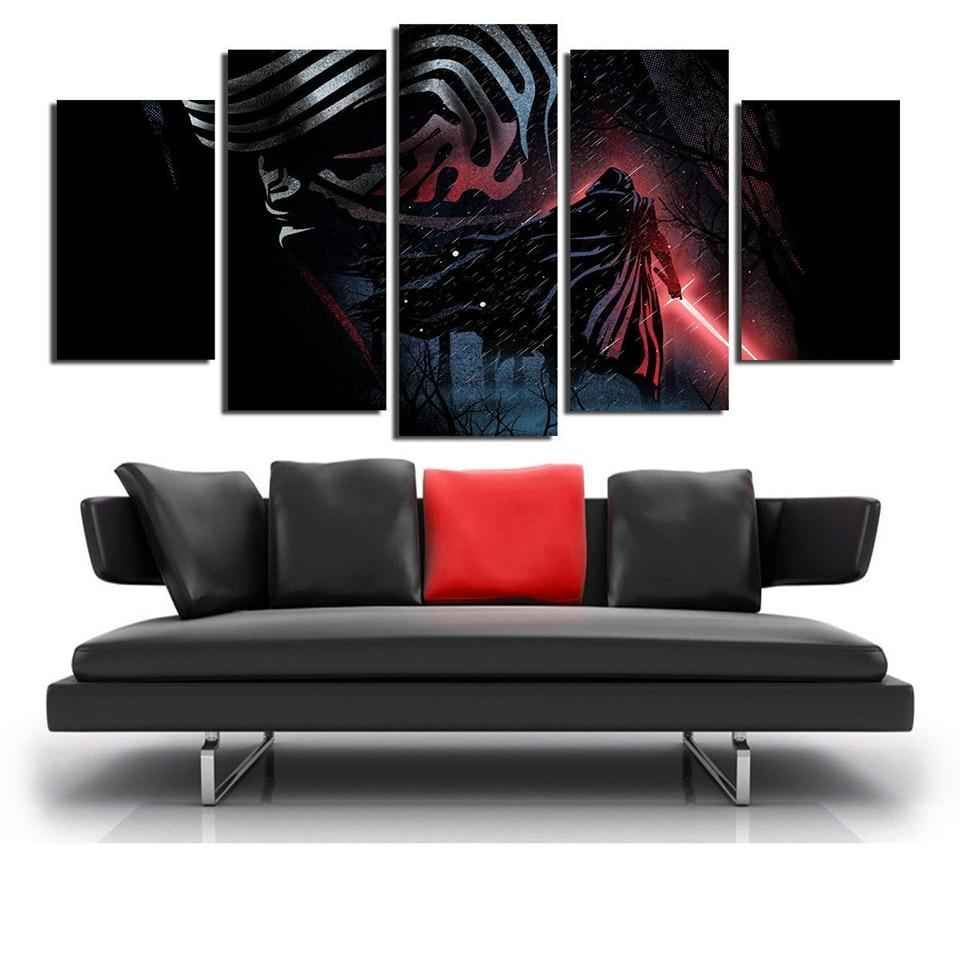 Tableau Star Wars<br> Kylo Ren - Yoda Shop