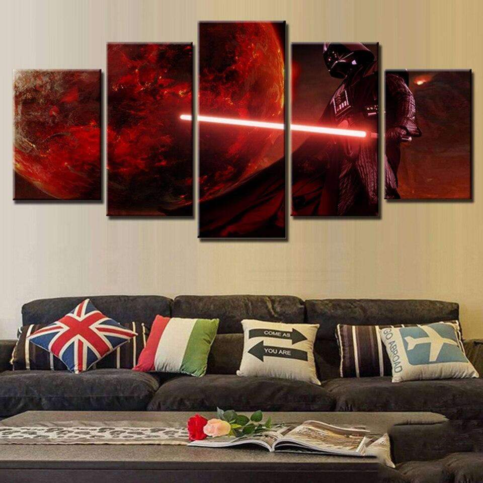 Tableau Star Wars<br> Mustafar - Yoda Shop