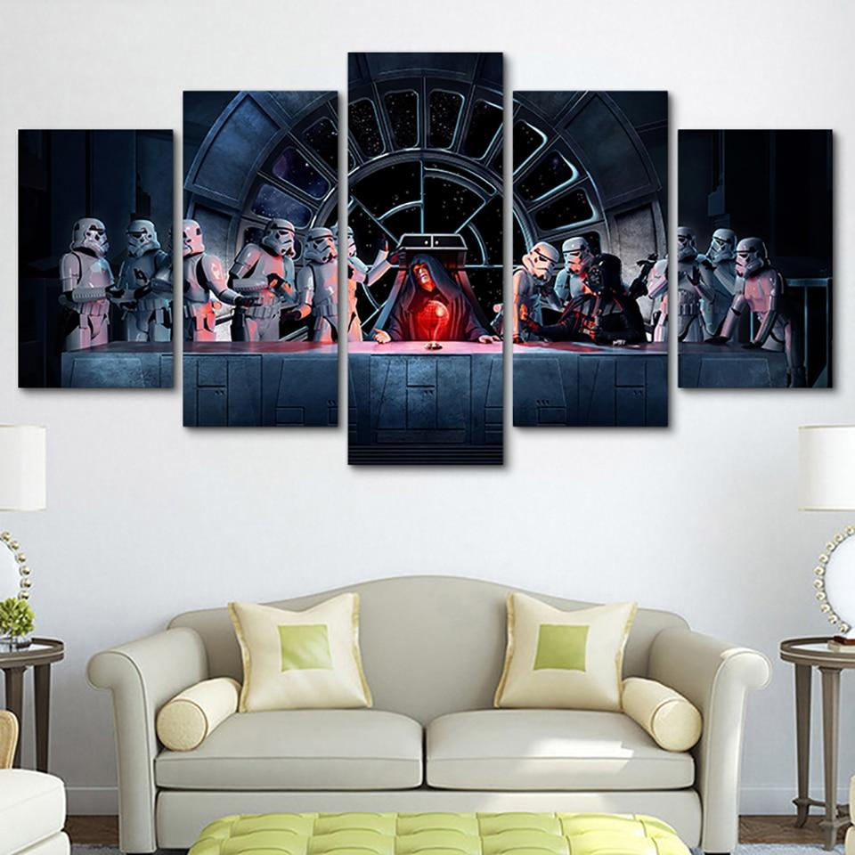 Tableau Star Wars<br> Palpatine - Yoda Shop
