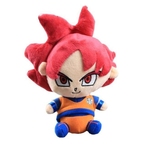 Peluche Dragon Ball <br>Goku Saiyan God