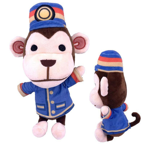 Peluche Animal Crossing Lazare