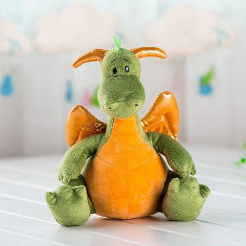 Peluche Dragon Ailes D'or
