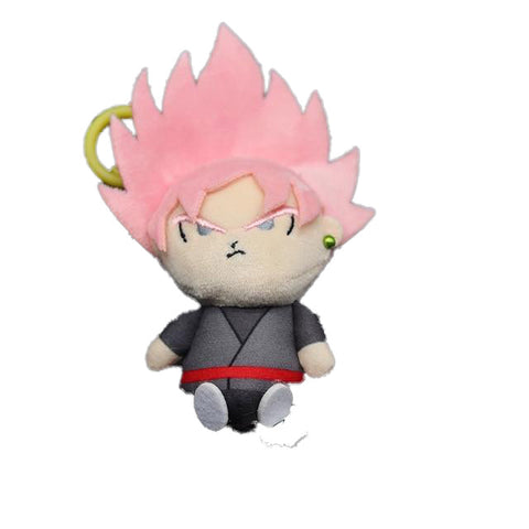 Peluche Dragon Ball <br>Porte Clés Black Goku Rosé
