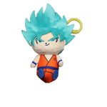 Peluche Dragon Ball <br>Porte Clés Goku Blue