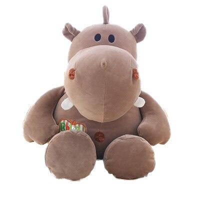 Peluche Hippopotame Fille