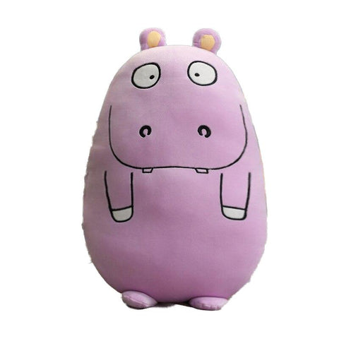 Peluche Hippopotame Rond