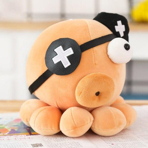 Peluche Poulpe Pirate
