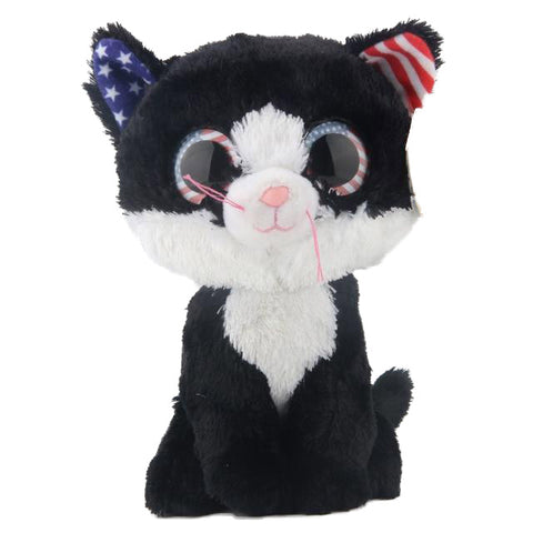 Peluche Ty <br>Chat Amérique