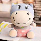Peluche Happy Hippo Rose