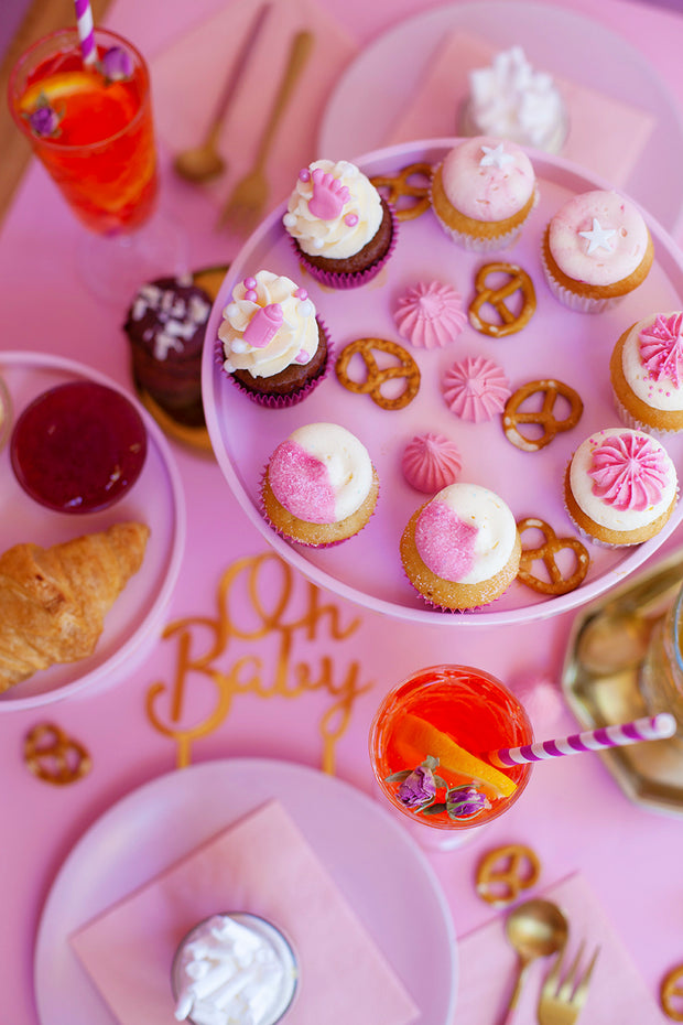 Babyshower Girl High tea