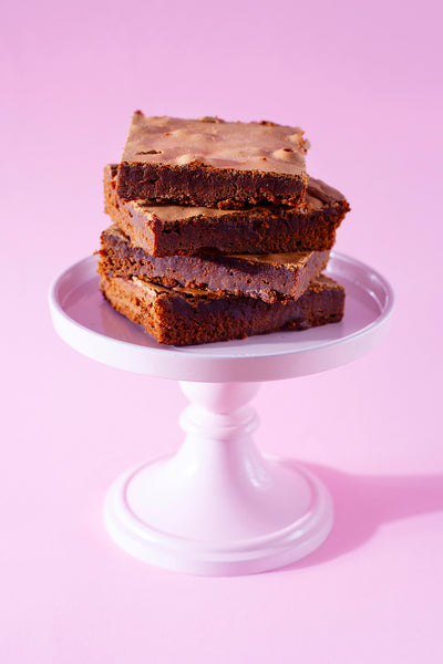 Dark Chocolate Brownies - 4 stuks