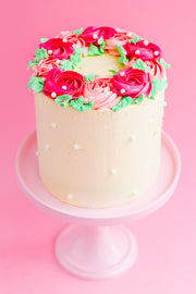 Romantic Rose Cake