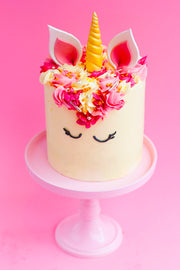 Mrs. Unicorn Cake