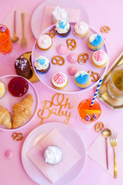 Babyshower Pink & Blue High Tea
