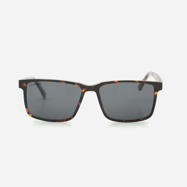 Cambium Kona Sunglasses - Recycled Plastic And Wood Frame Classic Black