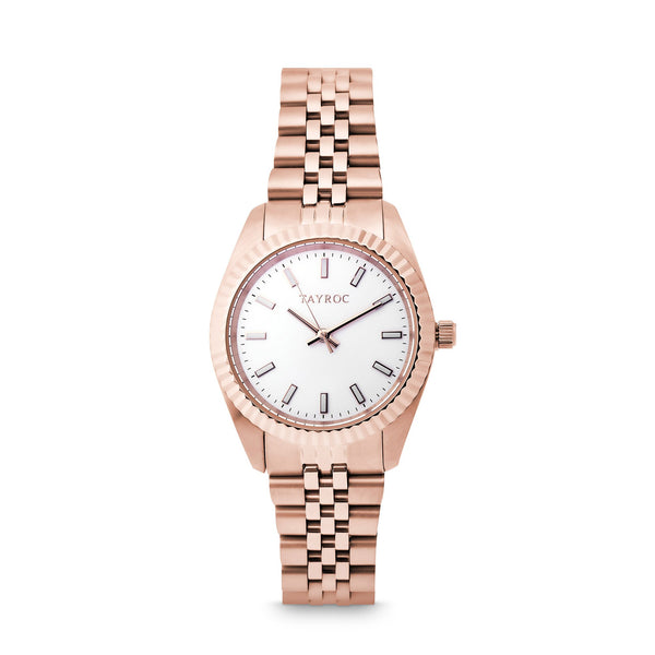 Tayroc Launton Rose Gold 31mm Analog Watch